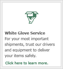 For your most important shipments, trust our drivers and equipment to deliver your items safely.