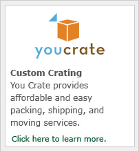Custom Crating. You Crate provides affordable and easy packing, shipping, and moving services.
